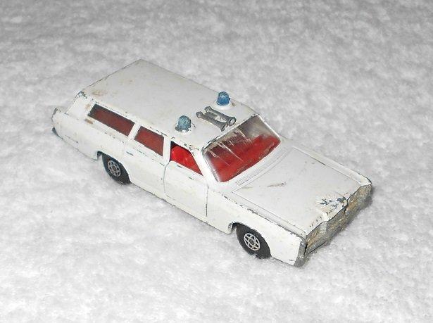 Mercury Commuter - #K-23 - Matchbox - Speed Kings - White - Metal - 1970
