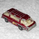Freeman Inter-City Commuter - #22 - Matchbox - Red - Metal - 1970