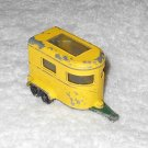 Pony Trailer - #43 - Matchbox - Yellow - Metal - Vintage