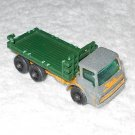 Stake Truck - #4 - Matchbox - Yellow & Green - Metal - Vintage