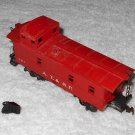Lionel - AT&SF Caboose - #0817-7 - HO Scale - Red - Vintage