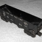 Lionel - Lehigh Valley Open Top Freight Car - #6456 - O Scale - Black - Vintage