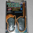 Toytech - Walkie Talkies - Set Of 2 - Grey - Includes Original Case - 2001