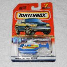 Matchbox - Rescue Chopper - #7 - White & Blue - 1999 - New