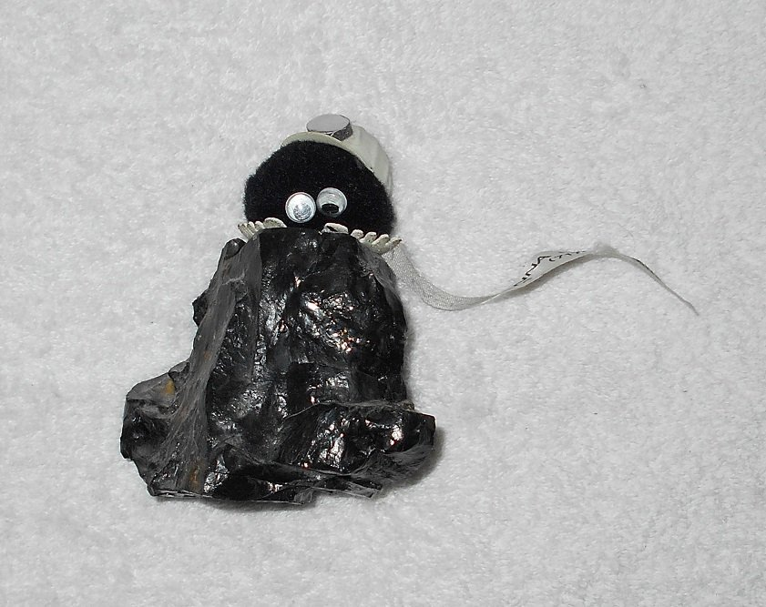Lackawanna Coal Mine Souvenir - Creature On Lump Of Coal - Scranton