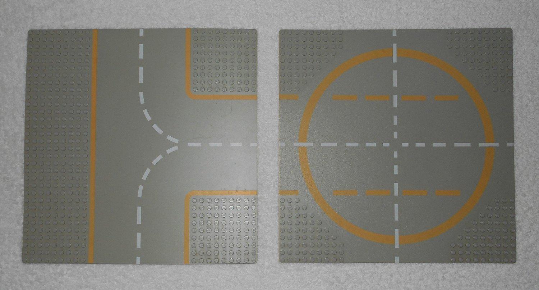 LEGO 454 - Lunar Landing Plates - Space - 1979 - Complete Set