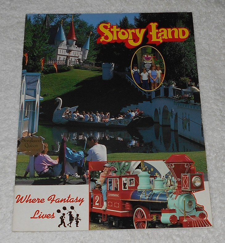 """""""Story Land: Where Fantasy Lives"""" by Steve Caming (1992, Mike Roberts)"""
