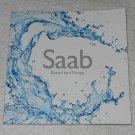 Saab - Brand And Range - Sales Catalog - 2011
