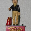 Uncle Sam - Mechanical Coin Bank - Plastic - Emson - 1975
