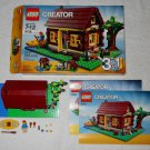 LEGO 5766 - Log Cabin - Creator - 2011 - Complete Set w/ Instructions & Box