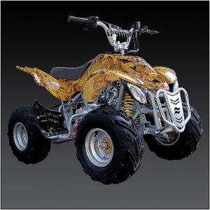 Brand New 110cc 4-stroke FULLY Automatic ATV 4 WHEELER  Free Shipping
