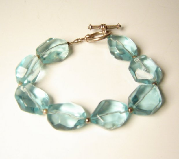 Blue Quartz Candy bracelet