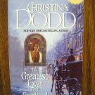 THE GREATEST LOVER IN ALL ENGLAND by Christina Dodd