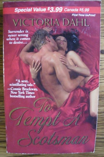 TO TEMPT A SCOTSMAN by Victoria Dahl