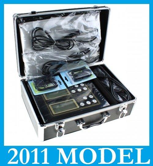 NEW 2011 DUAL LCD ION DETOX FOOT BATH SPA CELL AQUA CHI SPA IONIC CLEANSE PROFESSIONAL