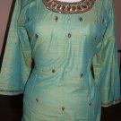 Dupiani Silk Tunic With Bead work