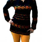 Aria embroidered cotton tunics