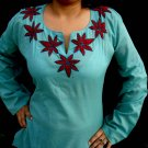 Aqua Designer cotton tunics with full sleeve