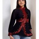 Elegance long sleeves Kurti/Tunic with jacket style beadwork