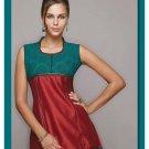 Design Moderate red tunic/ top/Kurtis