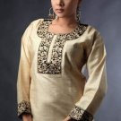 Ladies cotton Tunic Top with embroidery work