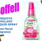SOFFELL MOSQUITO REPELLENT LIQUID SPRAY 30ml Floral Fragrance