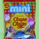 5 Chupa Chups Assorted Flavour MINI LOLLIPOPS FAT FREE