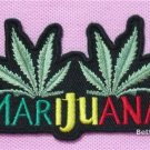 CANNABIS MARIJUANA RAGGAE Embroidered Sew Iron on Patch