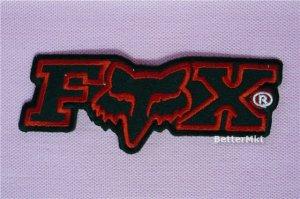 F_o_x Racing BIKE MTB MOTORBIKE LOGO Sew Iron on Patch