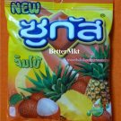 SUGUS JUMBO Lychee & Pineapple Flavoured Chews with Fruit Juice Candy Sweets 50g