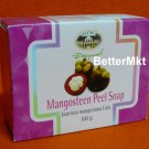 Mangosteen Peel Soap Natural Anti Bacterial Relieve Skin Irritation Acne Rash