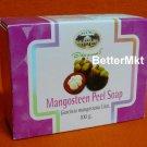 Mangosteen Peel Soap Natural Anti Bacterial Relieve Skin Irritation Acne Rash