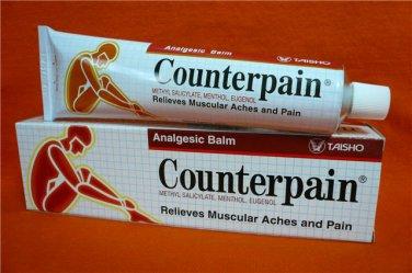 Counterpain Analgesic Balm 120g Relief Muscular Aches Arthritic Rheumatic Strains