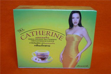 CATHERINE Weight Loss Herbal Slimming 8 Tea Bags Chrysanthemum Flavour