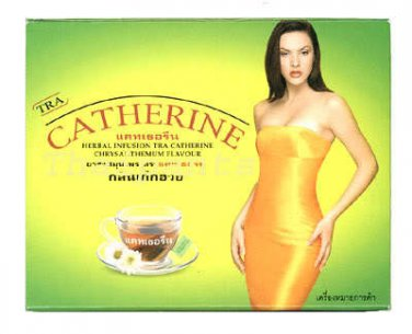 CATHERINE Weight Loss Herbal Slimming 16 Tea Bags Chrysanthemum Flavour