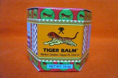 RED TIGER BALM 19.4g Relief Muscular Aches Pain Sprain