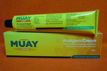 Namman Muay 100g Analgesic Cream Relieve Muscular Aches