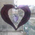 Victorian style heart