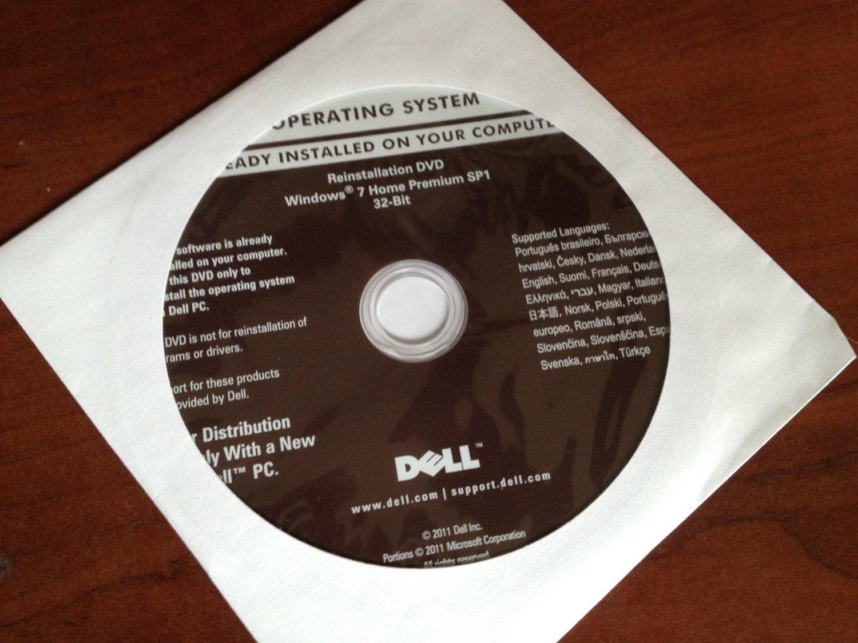 dell windows 7 home premium dvd