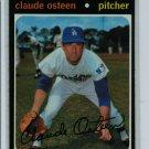 1971 Topps Baseball #10 Claude Osteen Dodgers VG/EX