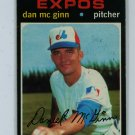 1971 Topps Baseball #21 Dan Mc Ginn Expos EX