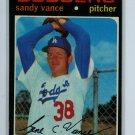 1971 Topps Baseball #34 Sandy Vance Dodgers EX