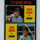 1971 Topps Baseball #39 Lagrow RC/Lamont RC Tigers VG/EX