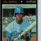1971 Topps Baseball #57 Von Joshua Dodgers VG/EX