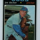 1971 Topps Baseball #98 Joe Decker Cubs EXMT/NM