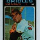 1971 Topps Baseball #99 Mark Belanger Orioles VG/EX