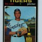 1971 Topps Baseball #101 Les Cain Tigers VG/EX