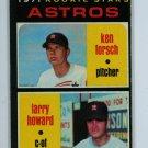 1971 Topps Baseball #102 Forsch/Howard Astros EX/EXMT