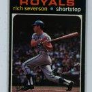 1971 Topps Baseball #103 Rich Severson Royals EXMT