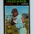 1971 Topps Baseball #107 Roy Foster Indians EXMT